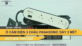 Ổ cắm điện 3 mét 3 ổ cắm Panasonic WCHG24332W giá rẻ