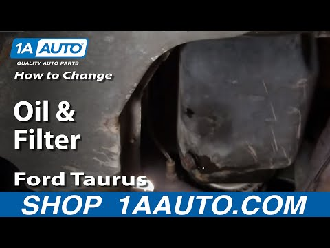 How To Change Engine Oil and Filter 00-07 Ford Taurus 3.0L V6