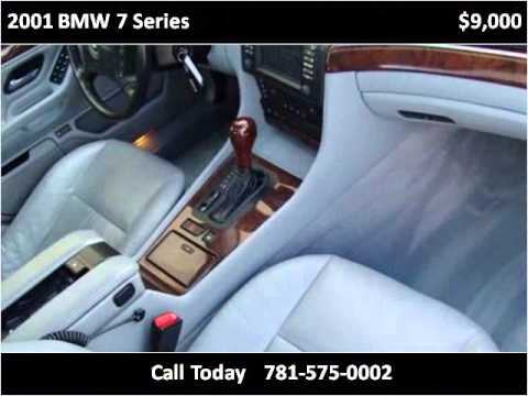 2001 bmw 7 series used cars canton ma youtube for Done deal motors canton ma