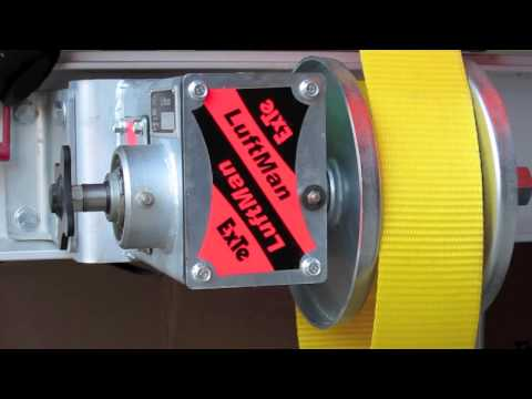 How to operate the ExTe Luftman load binder