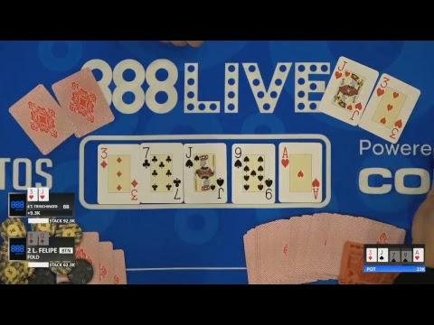 888Live São Paulo Main Event Day 1 Livestream