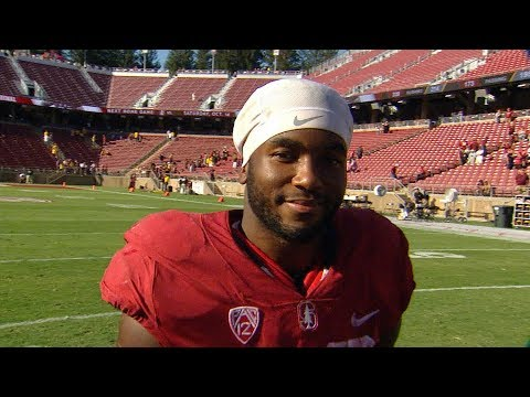 Stanford's Bryce Love says 'trust' in his teammates, coaches set up record-setting day