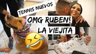 RUBEN CASI ME ROMPE EN DOS 😂TENNIS NUEVOS 👟LA VIEJITA 👵🏻- Daily Vlogs