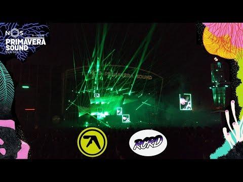 Aphex Twin -  Primavera Sound 2017 (Porto, Portugal)