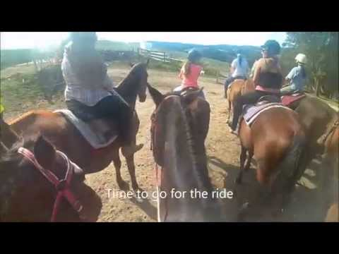 Horse trail ride at Uncle Nev