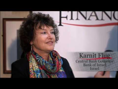 Karnit Flug, Central Bank Governor, Bank of Israel