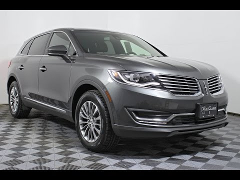 2017 Lincoln MKX Select 2.7L GTDI V6 AWD SUV at Eau Claire Ford Lincoln Quick Lane
