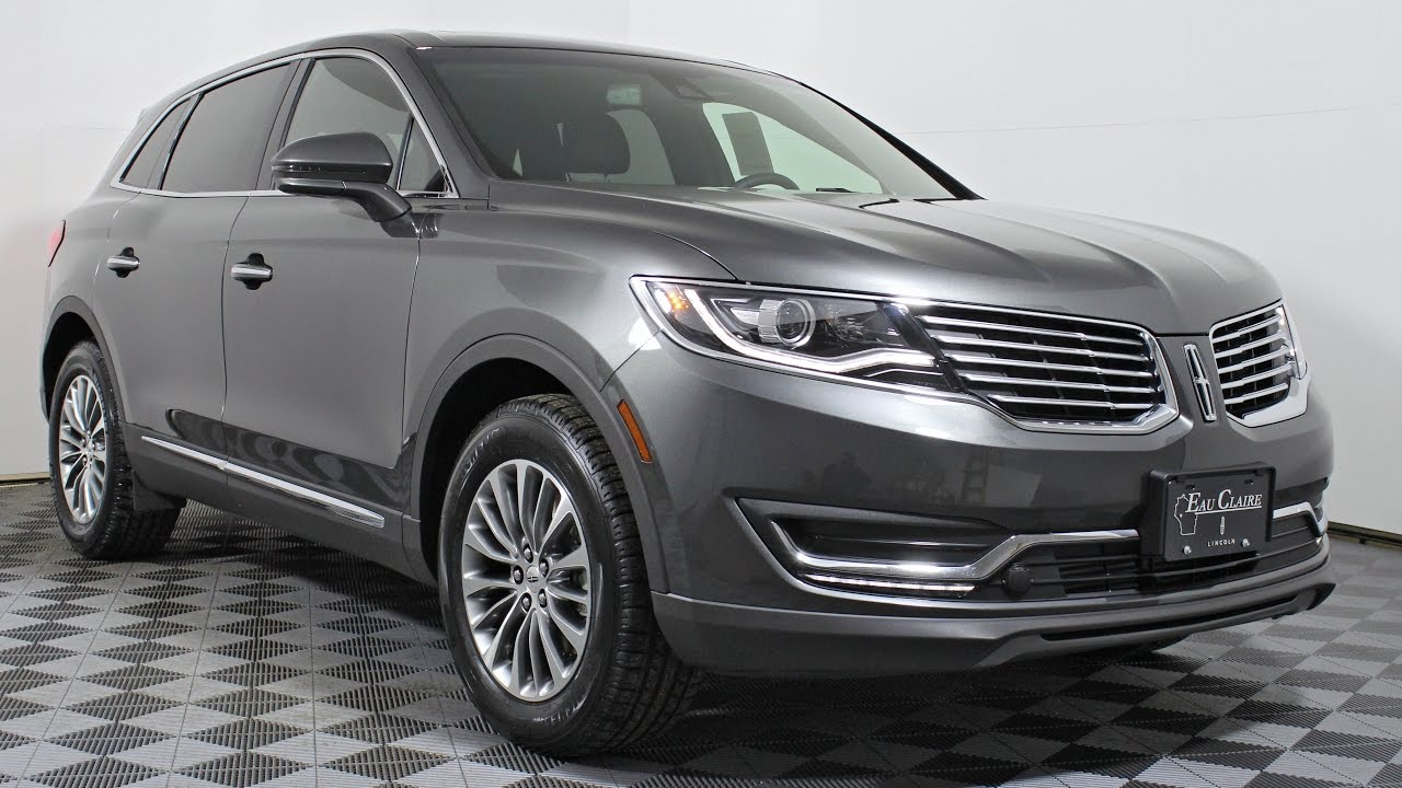 2017 lincoln mkx select 2 7l gtdi v6 awd suv at eau claire ford lincoln quick lane youtube. Black Bedroom Furniture Sets. Home Design Ideas