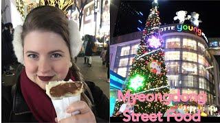 Myeongdong Walkthrough and Street Food