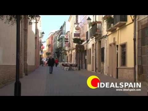 Denia, Alicante on the Costa Blanca