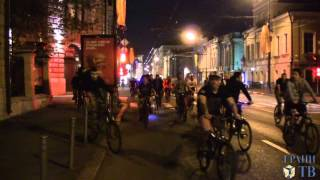 Несанкционированный велопробег в поддержку Гаскарова