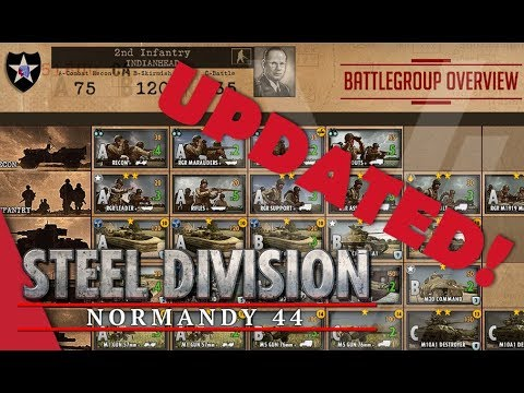 UPDATED! 2nd Infantry (Indianhead) - Steel Division: Normandy 44 Battlegroup Overview #6