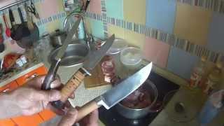 Ножевые приобретения с выставки Охота и Рыбалка