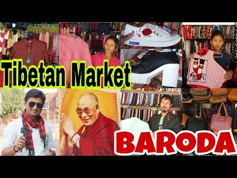 Tibetan market baroda | Winter Special | Dp's Vlog | Vlog #22