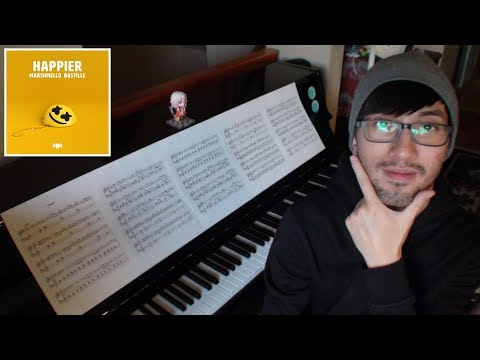 Happier - Marshmello (feat. Bastille) - Piano Cover