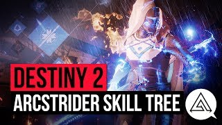 DESTINY 2 | Full Arcstrider Subclass Tree, New Gameplay & Impressions