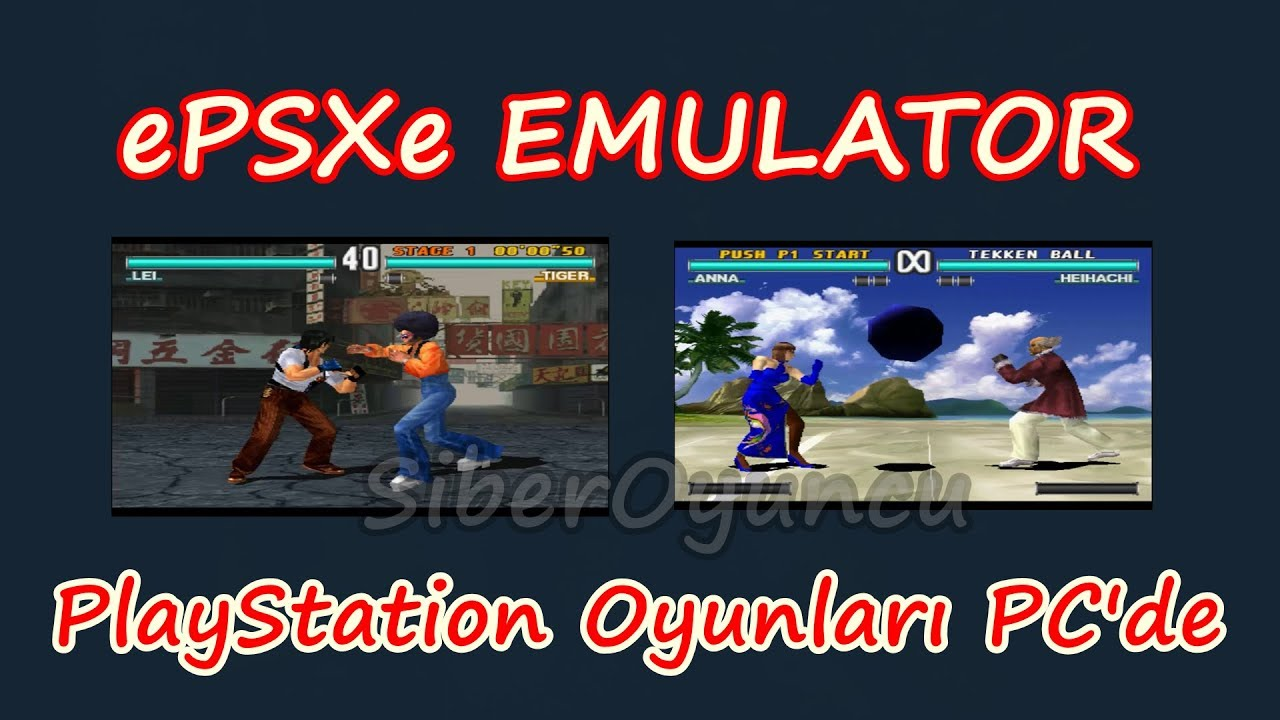 EPSXE EMULATOR SETUP (TEKKEN 3 - PC) PLAYSTATION GAMES