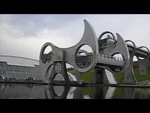 Falkirk Wheel (8x speed)