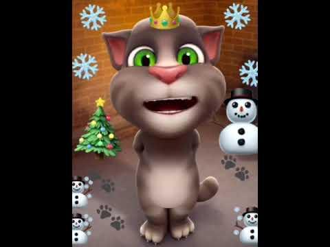 В лесу родилась Елочка. Поёт говорящий кот ТОМ. Новогодние Песни