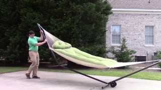 How To Create A Rolling Hammock Stand With A Wheel Kit
