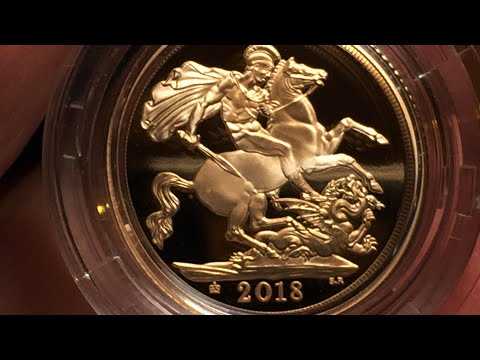The 2018 Gold Proof Sovereign in hand | Whats the verdict?