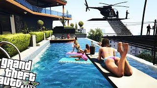 Franklin's Playboy Safehouse | Gta 5 Mod Showcase