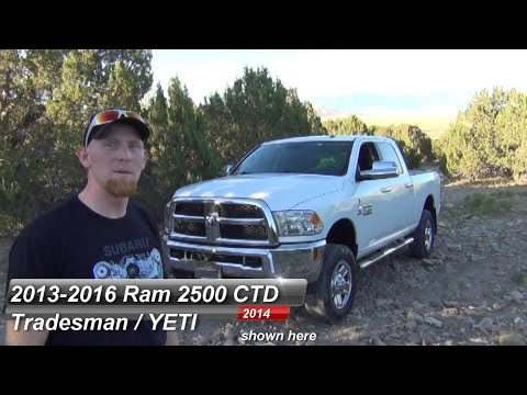 Ram 2500 HD CTD 2013 2016 Tradesman Review VERSE