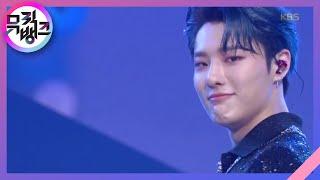 파랗게(Love Me Harder) - WOODZ(조승연) [뮤직뱅크/Music Bank] 20200710