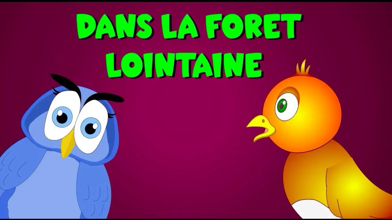 Dans la for t lointaine 35 min de comptines et chansons for Dans la foret