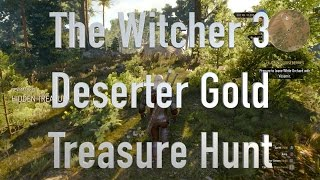 The Witcher 3 Deserter Gold Treasure Hunt XBOX One