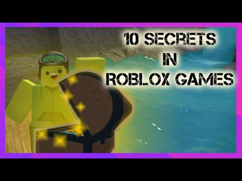10 Secrets In ROBLOX Games