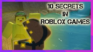 10 Secrets In ROBLOX Games