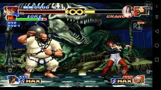 รีวิวจอยมือถือWee กับโปรแกรม Psx  #The King of fighters 99