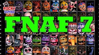 НОВЫЙ ФНАФ! Рокки играет в Пять Ночей с Фредди/FNAF 7: Ultimate Custom Night! Часть 1.
