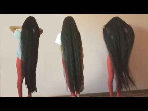ankle length hair beauty - aiman