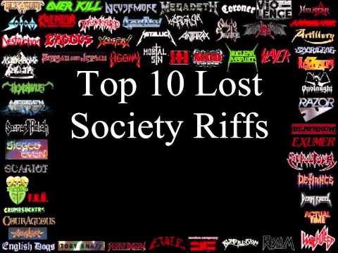 Lost Society Top 10 Riffs