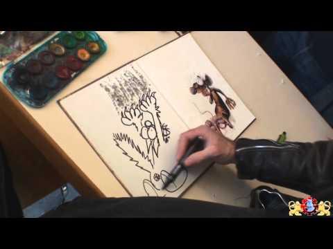 Ptiluc Ses Rats Et Son Univers à Bedecine 2010