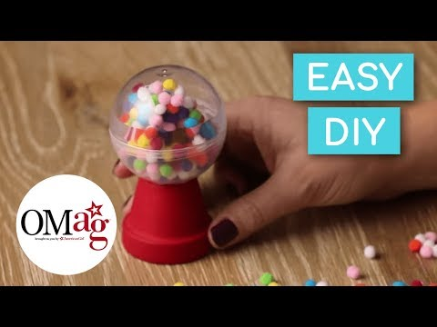 Mini Gumball Machine For Your Doll | Doll DIY | American Girl