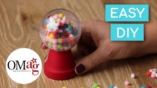 Mini Gumball Machine for Your Doll   Doll DIY   @American Girl