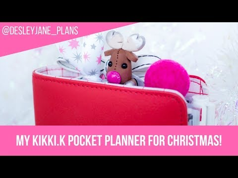 My Kikki.K Pocket Christmas Planner