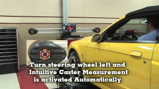 John Bean V2300 Imaging Wheel Alignment System