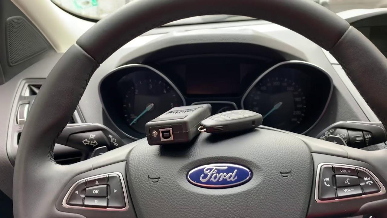 Ford Kuga 2018 Model Key Programming Youtube