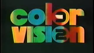 TV Dominicana Bumper ID - Color Vision (1994)