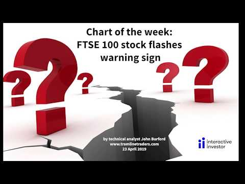 Chart Of The Week: FTSE 100 Stock Flashes Warning Sign