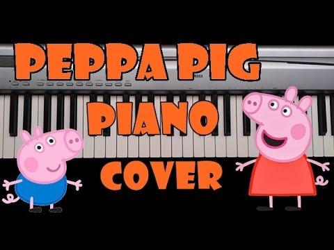 Peppa Pig - Música de abertura - Piano Cover