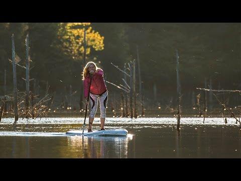 Stand Up Paddling Laurel River Lake, Kentucky