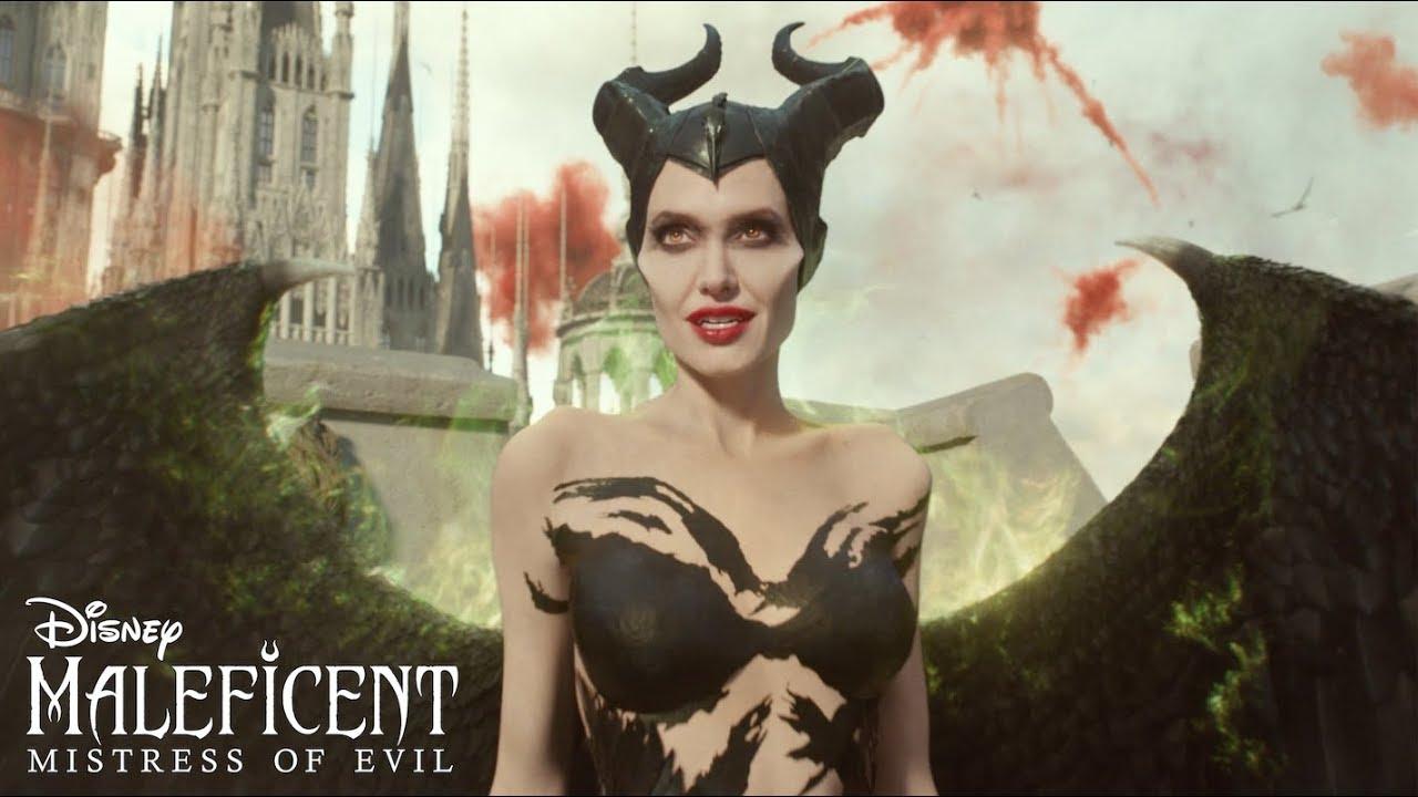 Video Disney S Maleficent Mistress Of Evil Horns Spot
