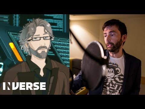 gen:LOCK  David Tennant on voicing his new character Dr. Weller