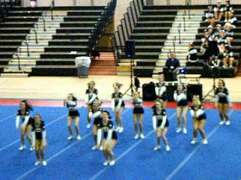 Bow High School Cheerleaders, New England High School Championship 3/2011.AVI