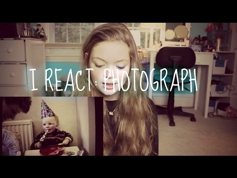 I REACT: Photograph Music Video   Ed Sheeran